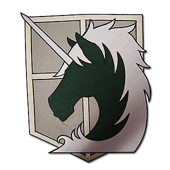 Patch (Large) - Attack on Titan - New Military Police Iron-On Gifts Toys ge44139