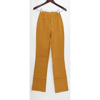 Denim & Co. leggings Tall stretch Boot Cut beige A42907
