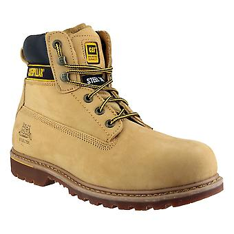 Caterpillar Mens Holton Lace Up Boot Honing