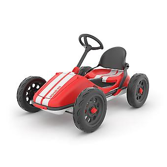 Chillafish Monzi-RS Go Kart Red Foldable Pedal Go Kart Ages 3-7 Years