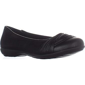White Moutain Sable Slip On Flats, Black, 6.5 US