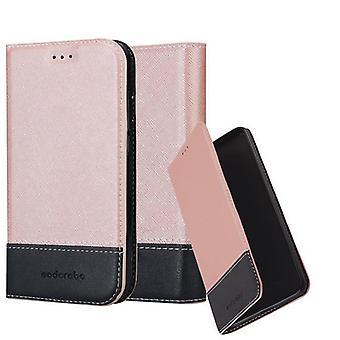 Cadorabo fallet för Apple iPhone XR fodral Cover-telefon väska med magnetstängning, stand funktion och kort Case-fallet täcker fallet fall bok Folding Style