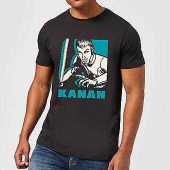 Star Wars Rebels Kanan Men-apos;s T-Shirt - Noir