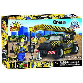 Action Town 115 Piece Construction Crane Construction Set