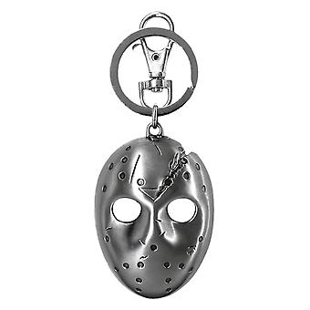 Friday the 13th Jason Voorhees Pewter Keychain