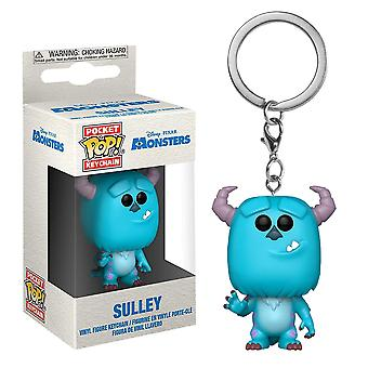 Monsters Inc. Sulley Pocket Pop! Keychain