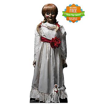 Annabelle Haunted Doll fra conjuring Universe offisielle papp utklipp