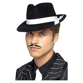 Mens Al Capone hoed Fancy Dress accessoire