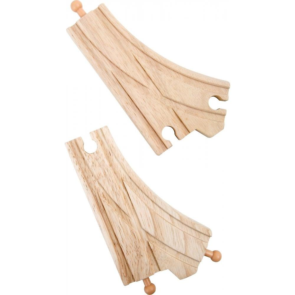 Small Foot Wooden Railway Track Points