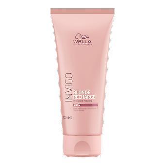 Wella Invigo Blond Recharge Farbe Erfrischende Conditioner 200ml
