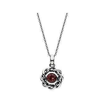 Kit Heath Heritage Heritage Mystic Birthstone January Garnet Necklace 9234JAN024