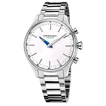 Kronaby S0556-1 Women's Sekel Hybrid Smartwatch With Steel Bracelet