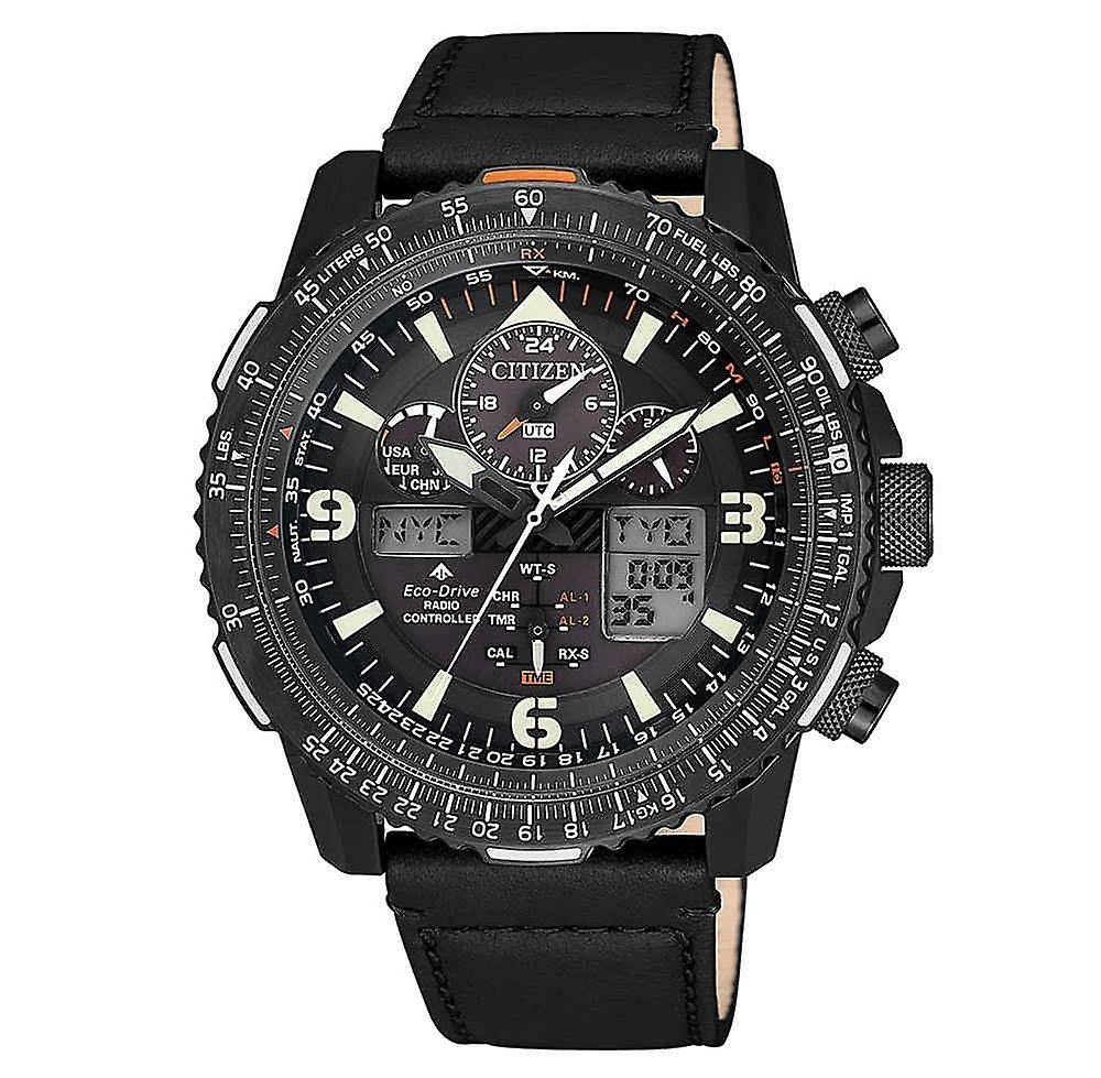 Citizen Promaster Jy8085-14h Sky Radio controlled Eco-Drive men's Watch 45.4 Mm