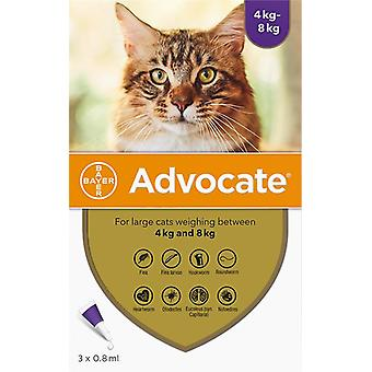 Advantage Multi (Advocate) Cats Over 8.8lbs (4kg) - 3 Pack