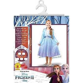 Disney Frozen 2 Elsa Dress Up Costume - Small