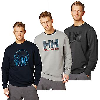 Helly Hansen Herre 2019 F2F fransk Terry bomulds sweater