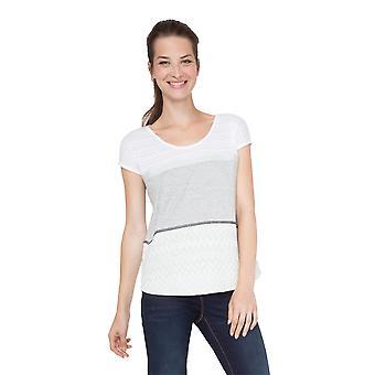 Desigual Women's Mire Tiered Tshirt Top