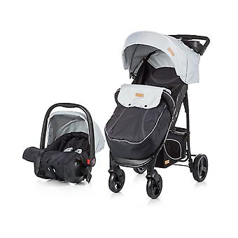 Chipolino Baby Combination stroller Passo 2 in 1 with car seat, foot bag