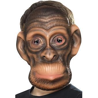 Chimp Mask, Brown, EVA