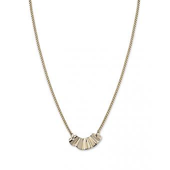 Rosefield BLWNG-J201 necklace and pendant - COLLECTION THE LOIS Women's Steel Wave Necklace