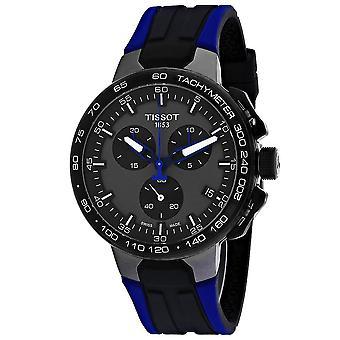 Tissot Men-apos;s T-Sport Black Dial Watch - T1114173744106