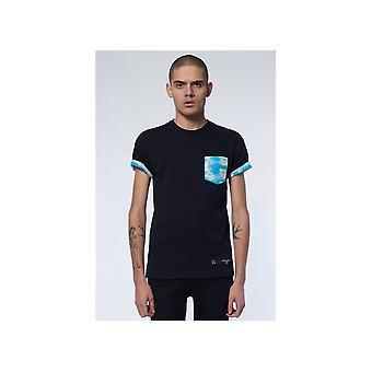 Criminal Damage Clouds Pocket Black/multi T-shirt