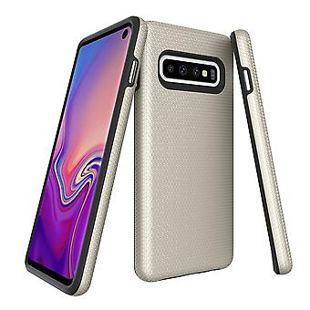 For Samsung Galaxy S10 Case, Armour Gold Protective Durable Slim Phone Cover