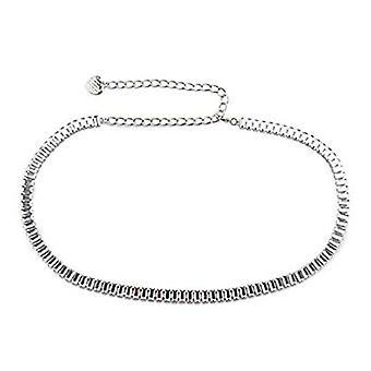 45 Inch Diamante Rhinestone Waist Chain Steel Belt