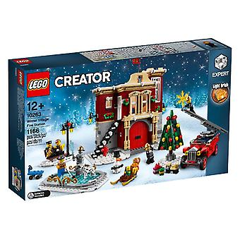 LEGO 10263 Fire Station in Winter Village