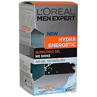 Men Expert de L'Oréal Hydra Energetic trempe Gel 50ml