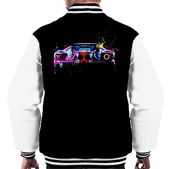 Motorsport Images Ford GT Keating Bleekemolen Fraga Men's Varsity Jacket