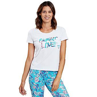 R'sch 1202033-11710 Femmes-apos;s Be Happy White Pyjama Top