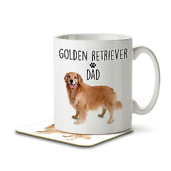 Golden Retriever Dad - Mug and Coaster