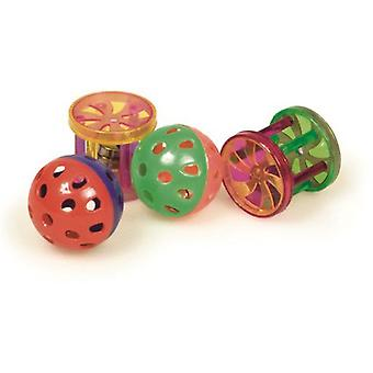 Arquivet Assortment Plastic Balls and Rolls (Cats , Toys , Balls)