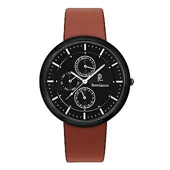 Pierre Lannier Analog quartz men's watch with leather 221D434