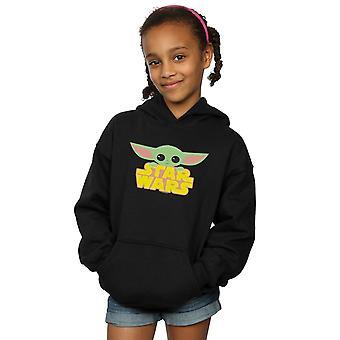 Star Wars Girls The Mandalorian The Child And Logo Hoodie
