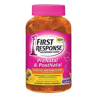First response prenatal & postnatal, orange punch, 90 ea