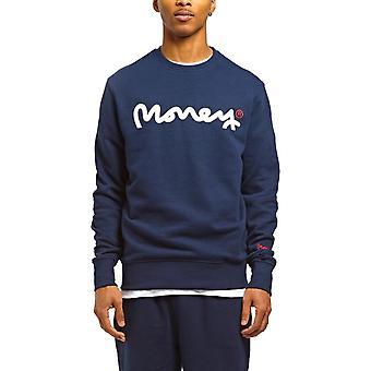 Money Chop Sig Ape Sweatshirt Navy 66