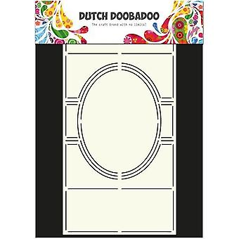Dutch Doobadoo Dutch Card Art Stencil Swing card oval A4 470.713.305