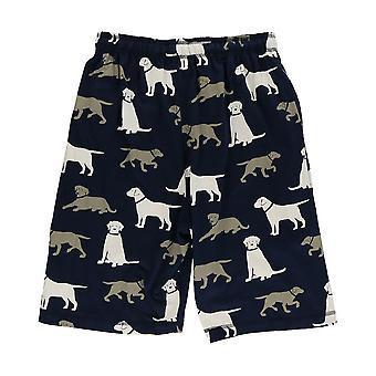 LazyOne Mens Labrador Dogs Pyjama Shorts