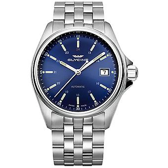 Combat classic Analog Men's Automatic Watch with GL0106 Stainless Steel Bracelet