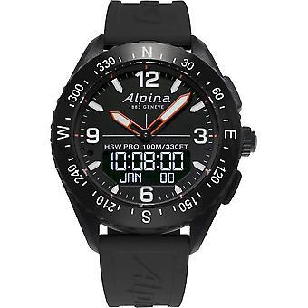 Alpina Smartwatch - Alpina AlpinerX Black-Black - AL-283LBB5AQ6