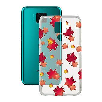Mobiele cover Huawei Mate 30 Lite Contact Flex TPU Herfst