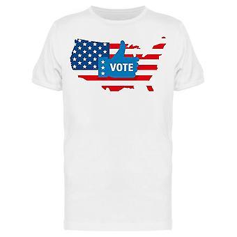 Vote 2020 In Usa Tee Men-apos;s -Image par Shutterstock