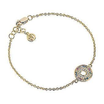 Sif Jakobs Bracelet Valiano gold plated SJ-B1048-XCZ(YG)