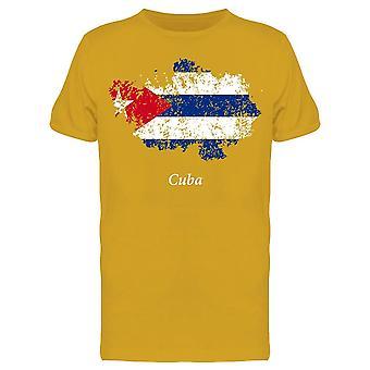 Kuba Grunge Old State Tee Men's -Bild von Shutterstock