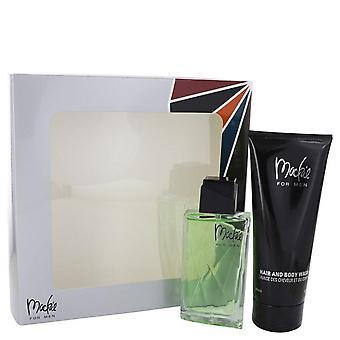Mackie presente definido por Bob Mackie 3,4 oz Eau De Toilette Spray + 6,7 oz Shower Gel
