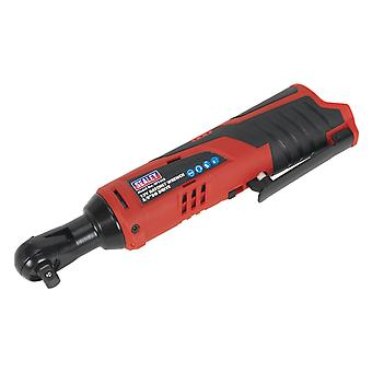 Sealey Cp1202 Ratchet Wrench 12V 3/8In Sq Drive - Body Only