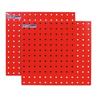 Sealey Tts05 Perfotool lagring Panel 500 X 500Mm Pack 2