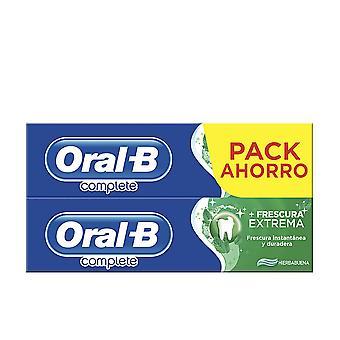 Oral-b Completo Dentifrico Fresco Extremo Set 2 Pz Unisex